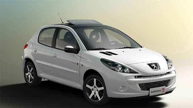 Peugeot extingue vers�es do 207