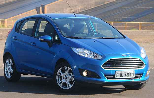 Ford aumenta pre�os do New Fiesta Hatch