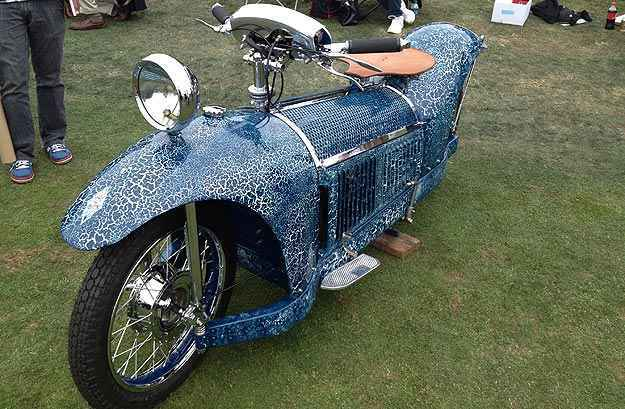 Moto francesa Majestic 1929 (Luiz Feldman/Esp. EM/D.A Press)