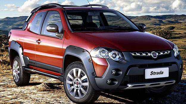 Strada Adventure possui rodas de liga-leve de 16 polegadas - Fiat/Divulga��o