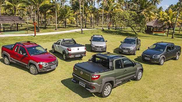 Picape est� dispon�vel em seis vers�es de R$ 33,7 mil at� R$  54.3 mil - Fiat/Divulga��o