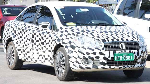 Fiat prepara reestiliza��o para o sed� Linea  e central multim�dia