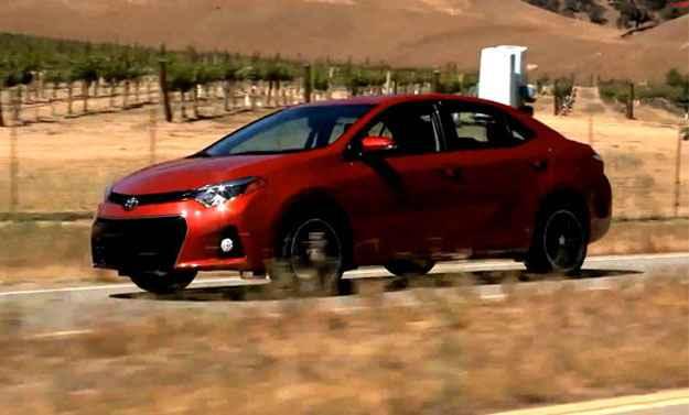 Toyota anuncia o lan�amento do Corolla americano no Brasil