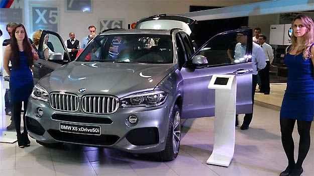 BMW lan�a no Brasil a nova gera��o do X5