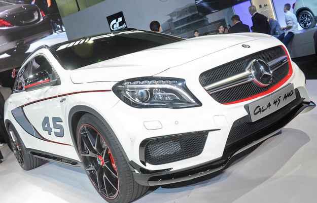 Mercedes apresenta o GLA 45 AMG Concept em Los Angeles