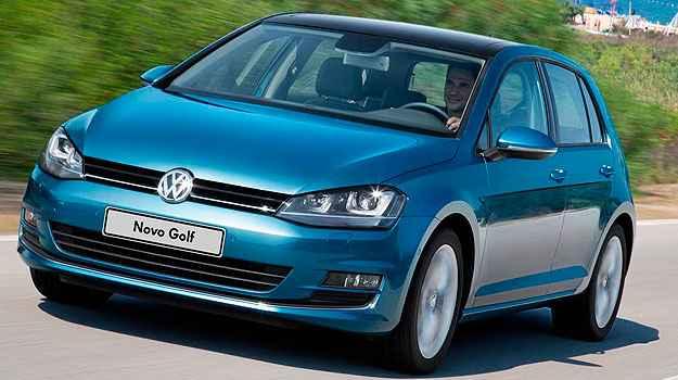 Volkswagen Golf lidera vendas entre hatches m�dios no Brasil em novembro