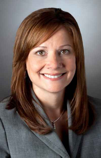 Executiva Mary Barra de 51 anos (GM/divulga��o)
