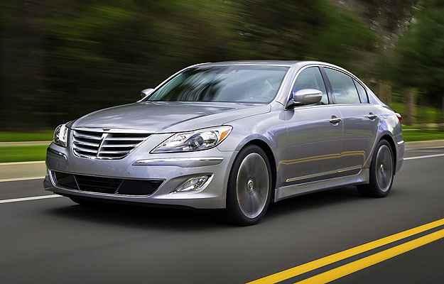 Caoa faz recall do Hyundai Genesis por fluido de freio