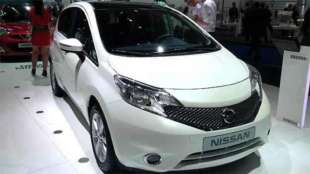 Nissan Note (Marcus Celestino/EM/D.A PRESS)