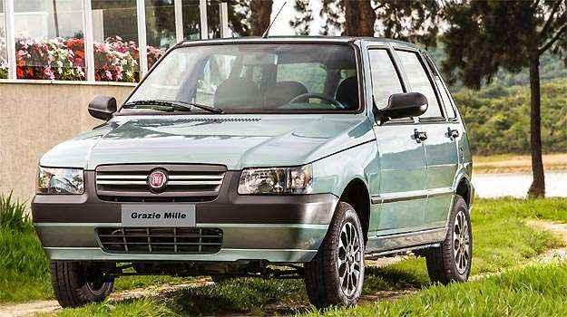 Grazie Mille � vendido por R$ 31,2 mil - Fiat/Divulga��o