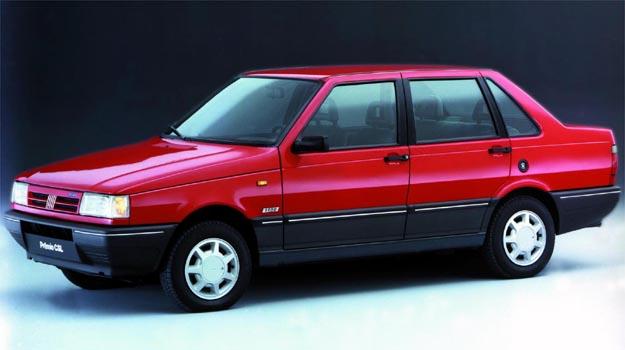 Pr�mio era um sed� compacto baseado no Uno - Fiat/Divulga��o