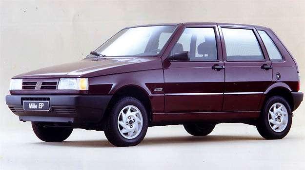 Mille EP substituiu o ELX, no final de 1995 - Fiat/Divulga��o