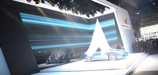 Modelo foi o grande destaque da Porsche em Detroit (Naias/Divulga��o)