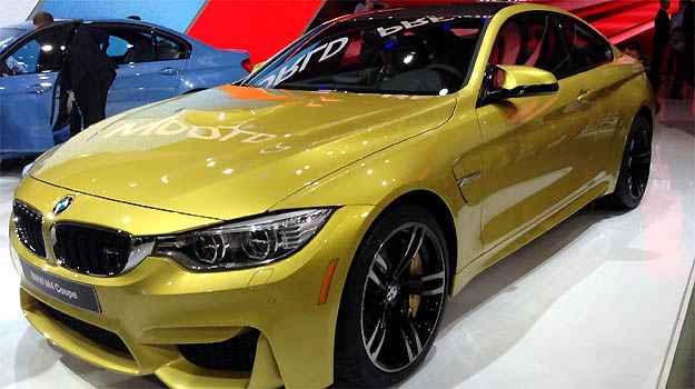 BMW M3 e M4 Ambos carregam a letra m�gica da divis�o esportiva da BMW e propulsor de 431cv de pot�ncia e seis cilindros em linha. M3 e M4 (foto) t�m tudo para brilhar. O �ltimo aporta em nossas terras brevemente (Marcus Celestino/EM/D.A PRESS)