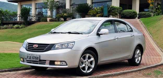 Chinesa Geely Motors chegar� ao Brasil em mar�o