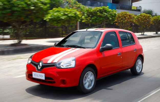 Renault Clio � o carro mais econ�mico do Brasil - Luiz Costa/Renault