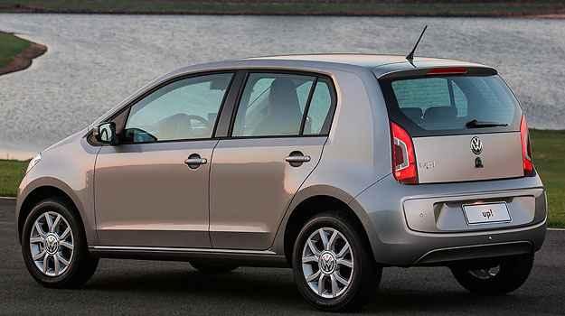 High Up � a op��o intermedi�ria, com rodas de liga e sensor de estacionamento (Volkswagen/Divulga��o)