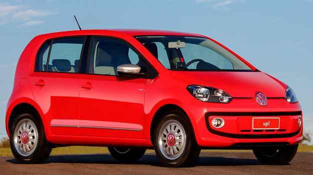Volkswagen Up! ter� quatro vers�es e o menor custo de reparo no Brasil