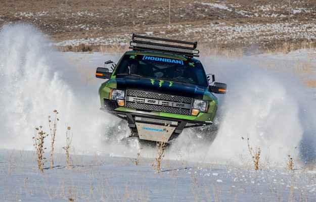 Ford cria ve�culo radical para o inverno - Ford/divulga��o