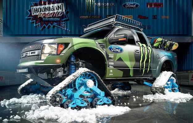 Ford apresenta a picape F-150 no X Games de inverno nos EUA