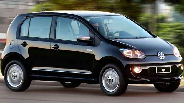 Volkswagen Up! ter� pre�o inicial de R$ 29,7 mil