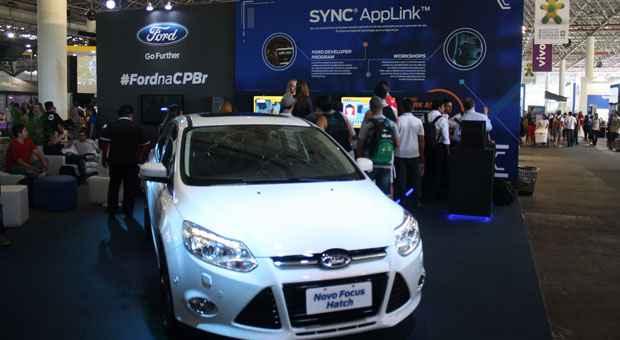 Ford anuncia lan�amento de plataforma de acesso a aplicativos de smartphone no Brasil