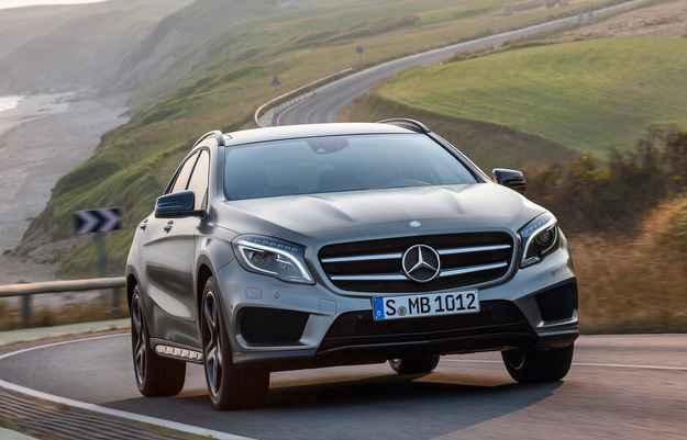 GLA ser� fabricado no Brasil a partir de 2016 (Mercedes-Benz/divulga��o)