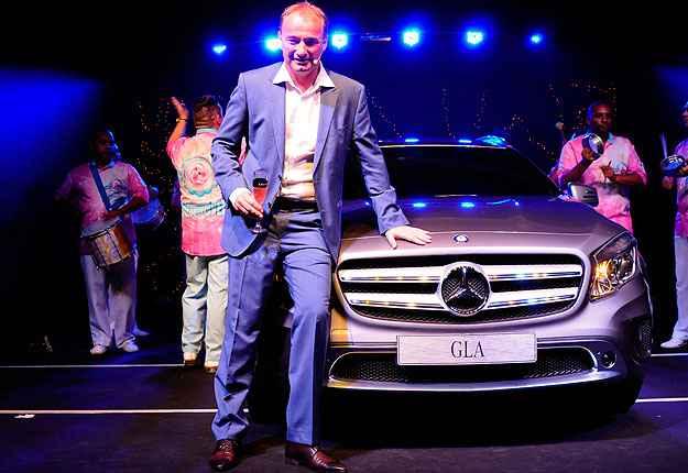 Philipp Schiemer, presidente da Mercedes-Benz do Brasil e CEO Am�rica Latina -  Rafael Jota/Divulga��o