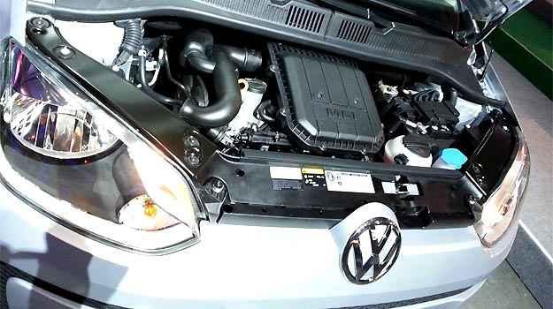 Motor 1.0 de tr�s cilindros rende 82 cv de pot�ncia; � o mesmo j� usado no Fox Bluemotion -