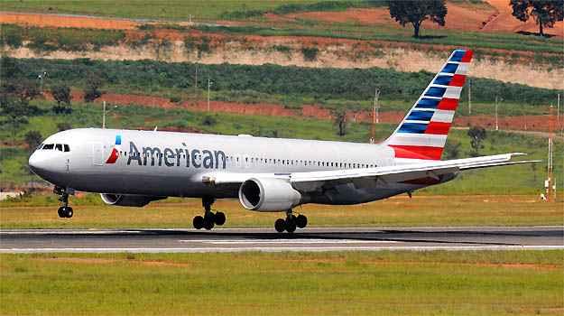 Boeing 767 da American Airlines foi obrigado a pousar em Manaus - Euler Junior/EM/D.A PRESS