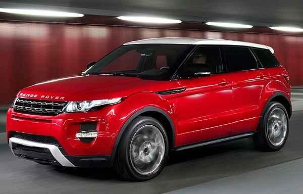 Land Rover Evoque 2014 ganha c�mbio de nove marchas