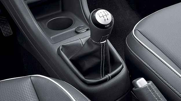 C�mbio apresenta engates curtos e precisos ( Ricardo Hirae/Volkswagen)