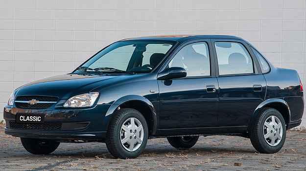 Tamb�m 2.920 unidades do Classic podem apresentar o defeito (Chevrolet/Divulga��o)
