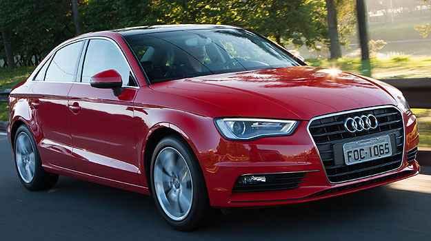 O Audi S3 Sedan � moderno, mas n�o tem linhas t�o ousadas quanto o concorrente (Audi/Divulga��o)