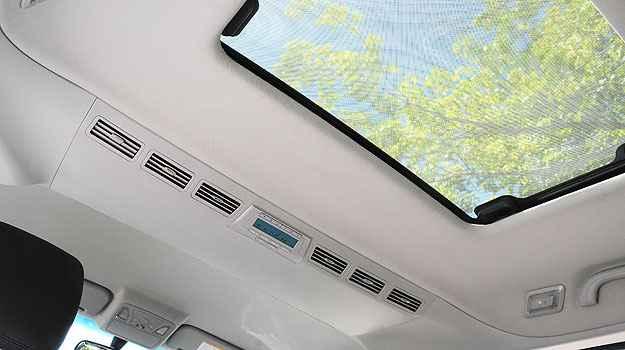 Ar condicionado pode ser ajustado pelos passageiros - JAC/Divulgação