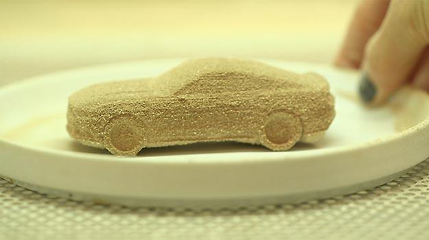 Vers�o do Mustang feita com torr�o de a��car tem sabor de ma�� verde -