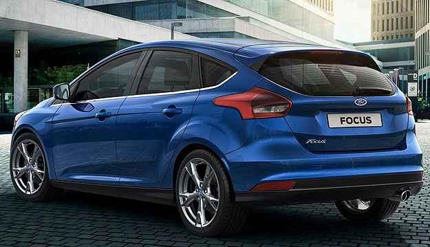 Lateral e traseira foram mantidas no Focus 2015 (Ford/Divulga��o)
