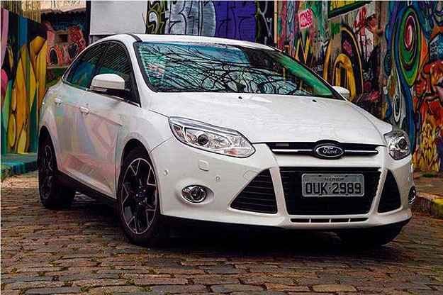 Terceira gera��o do Focus s� chegou ao Brasil em setembro de 2013 e agora ficou defasada (Ford/Divulga��o)