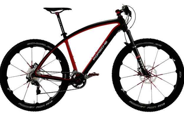Bicicletas s�o equipadas com etiqueta anti-roubo - Porsche/divulga��o