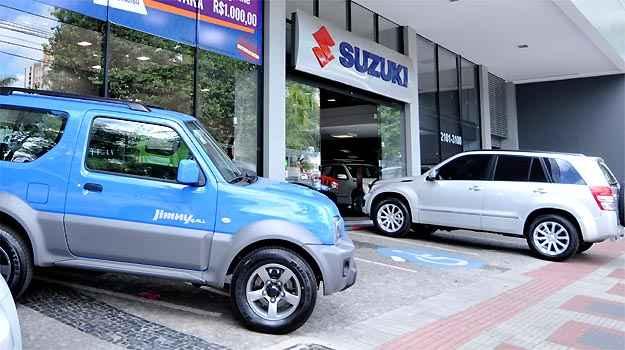 Concession�ria Suzuki Via Natsu, em BH - Ramon Lisboa/EM/D.A PRESS