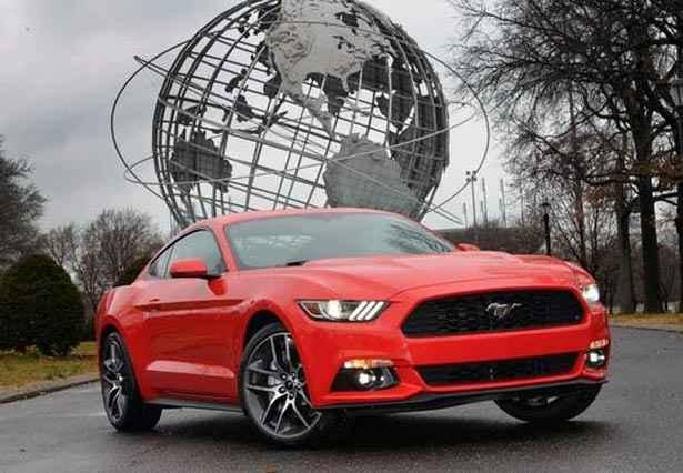Ford  Mustang 2015 ganha retoques no visual e no conjunto mec�nico