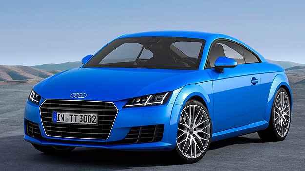 Linhas geom�tricas predominam no visual do novo TT - Audi/Divulga��o