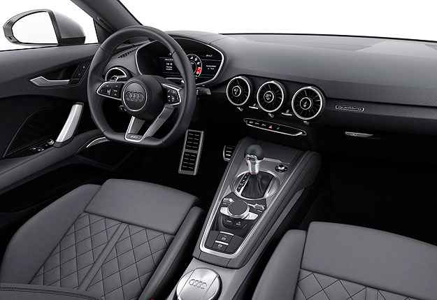 Interior mais limpo e volante com base achatada: 'Less is more' (Audi/Divulga��o)