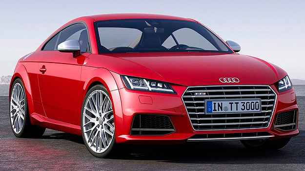 Audi TTS (com tra��o integral) tamb�m recebeu novo visual - Audi/Divulga��o