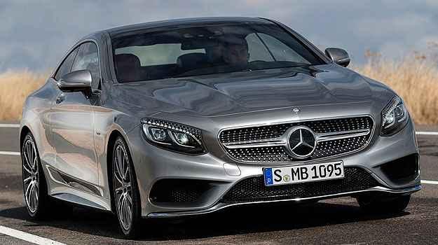 Um dos Mercedes mais bonitos de todos os tempos com rodas aro 20 e cada farol pode ter 47 cristais (Mercedes-Benz/Divulga��o)