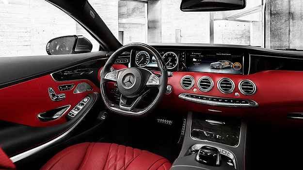 Aromatização e ionização do ar, apoio de braço aquecido e bancos dianteiros com massagem energizante - Mercedes-Benz/Divulgação