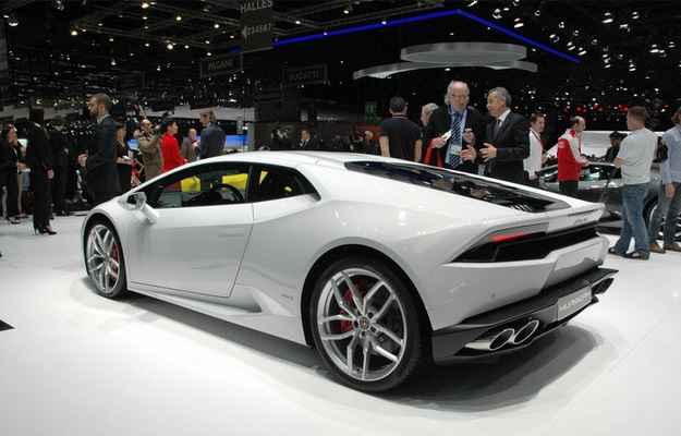 Hurac�n chega mais potente que o antecessor Gallardo alcan�ando 610 cavalos  - Geneva Motor Show/divulga��o