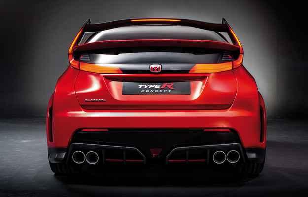 Segundo a montadora o novo Civic rende mais de 280 cv  (Honda/divulga��o)