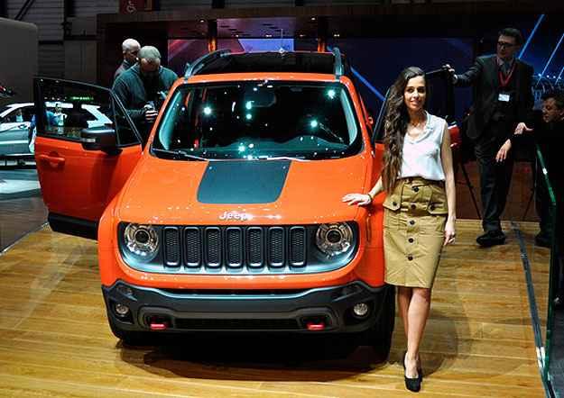 Jeep Renegade ser� fabricado na f�brica da Fiat em Pernambuco (Geneva Motor Show/Divulga��o)