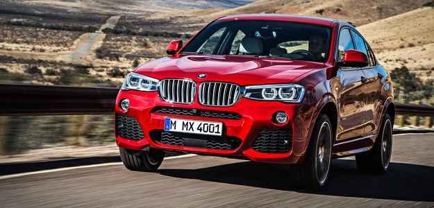 BMW prepara lan�amento do X4 para abril